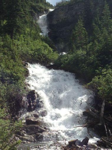 Wolverine Creek Falls enroute