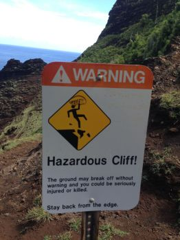 Caution! Greasy Mud ahead