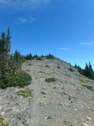 Ascending the third summit