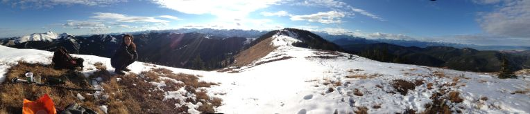 Panorama from Cox Hill