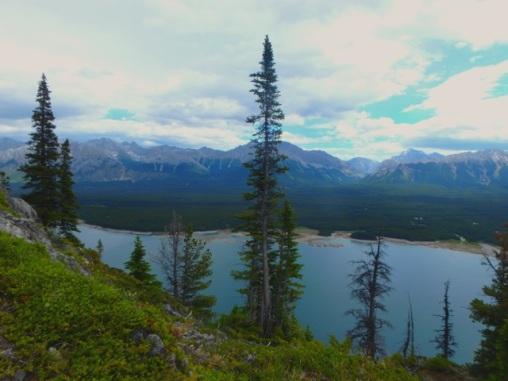 Lower Lake below the ridge