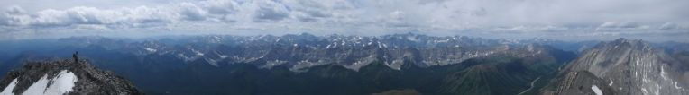 Mist Mountain Summit Panorama