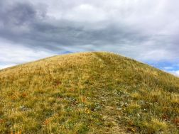 The top of the second hill