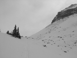 Nearing the top of Boulder Pass