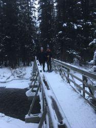 The bridge near the trailhead