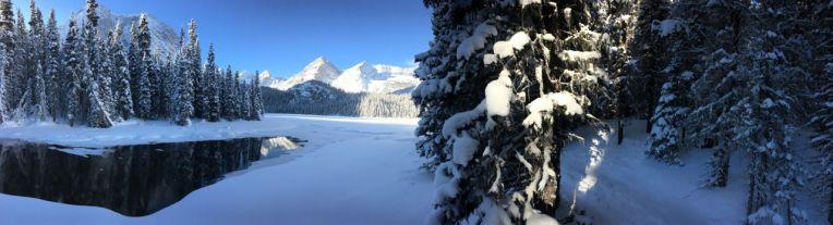 Panorama of Lower Elk Lake