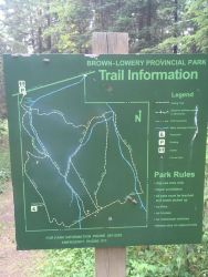 Trail Info - I followed Wildrose to Lookout to Eagle View to Pine Hill to Old Mill to Chickadee back to the parking lot