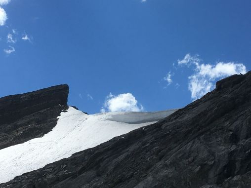 The cornice on the col