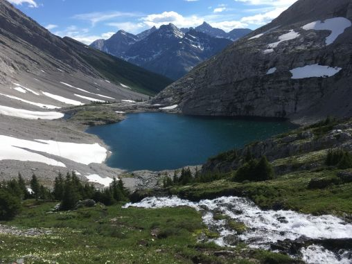 Lower Headwall Lake
