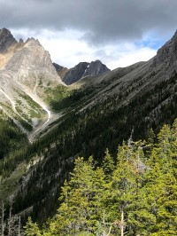 The trail to Cory Pass